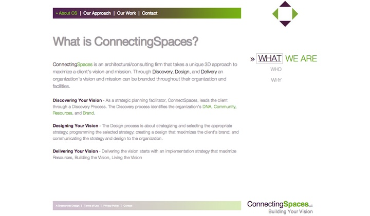 Connecting Spaces Homepage