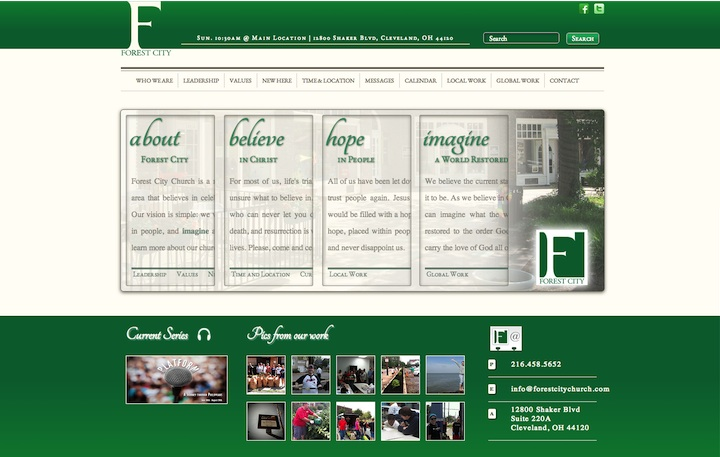 Forest City Church Homepage