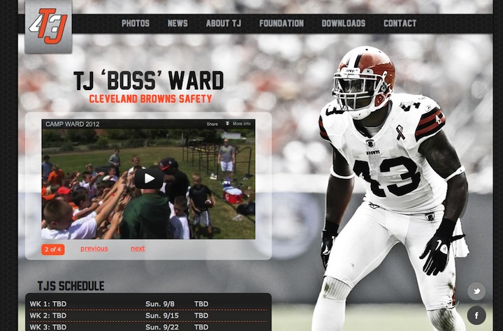 TJ Ward Homepage